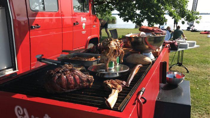 Edventure catering BBQ