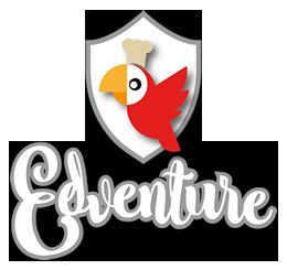 logo edventure catering